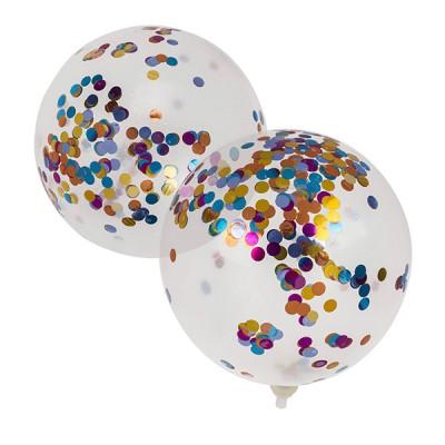 Ballons avec Confettis pour...