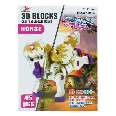 Puzzle 3D Cheval 113298 (45...