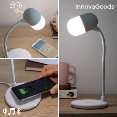 Lampe LED avec haut-parleur...
