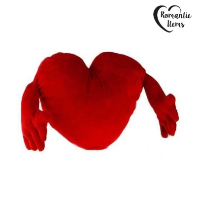 Coeur en Peluche avec Bras...