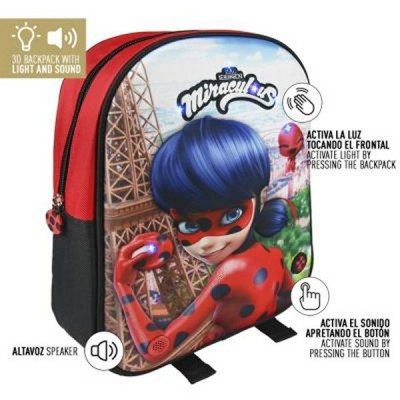 Cartable 3D Lady Bug