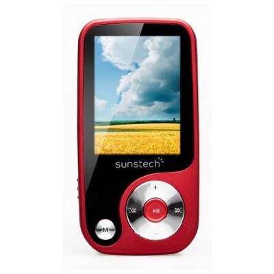 MP4 Sunstech Thorn 4 GB Rouge