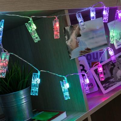 Guirlande LED Pinces pour...