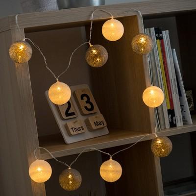 Guirlande LED Sphères (10 LED)