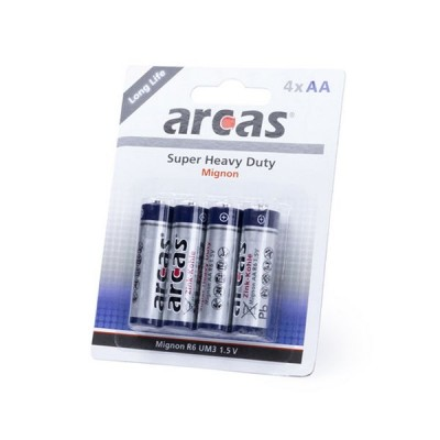 Batteries AA/R06 1,5V (4...
