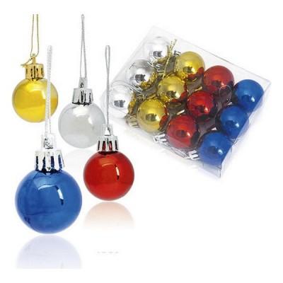 Boules de Noël (12 pcs)...