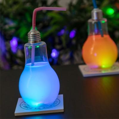 Verre Ampoule avec LED et...