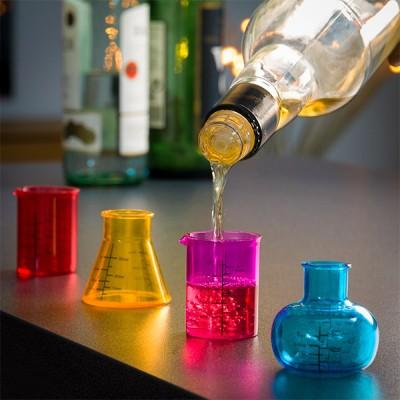 Verres à Shot Chemistry...
