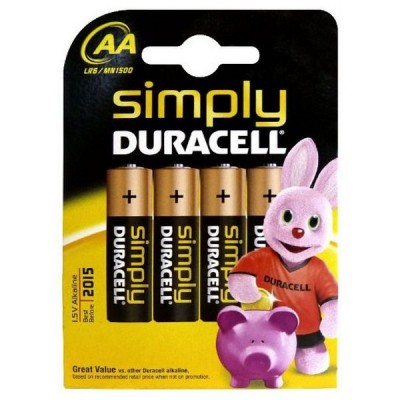 Piles Alcalines DURACELL...