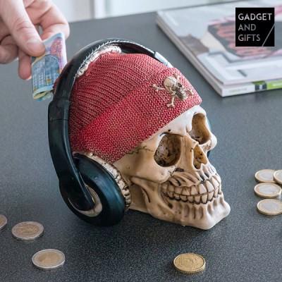 Tirelire Crâne Pirate avec...