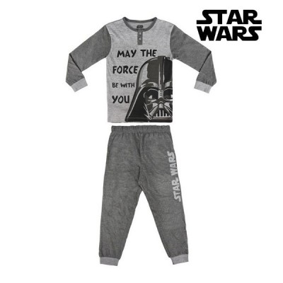 Pyjama Enfant Star Wars Gris