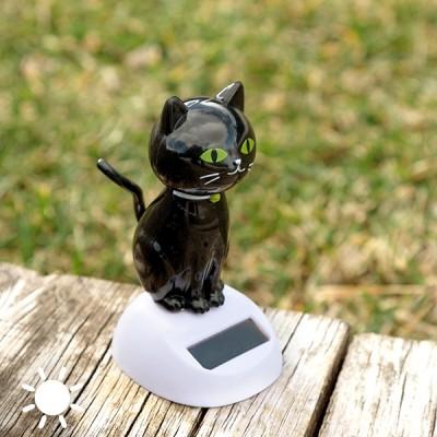Chat Noir Solaire avec...